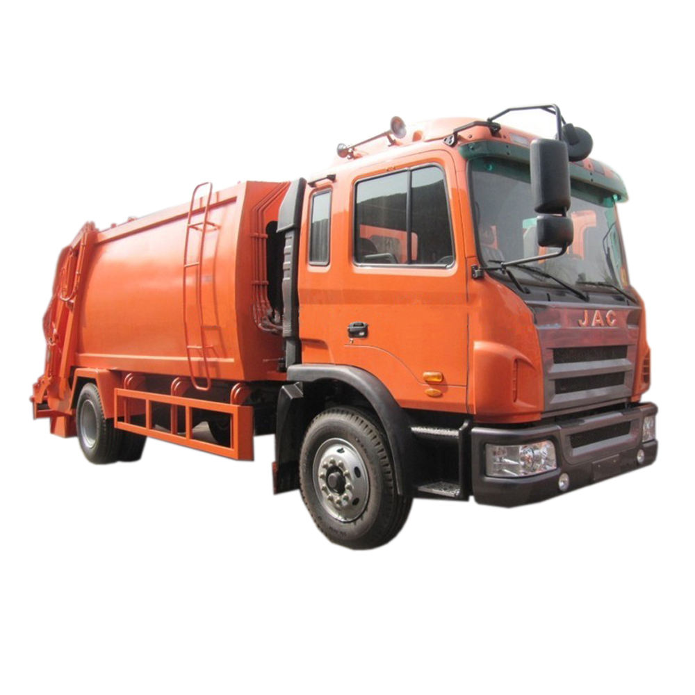 Cheapest China JAC Compactor Garbage Trucks for Sale