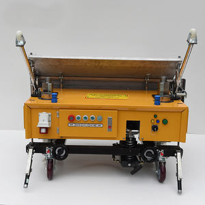 Automatic Cement Mortar Plastering Machine, Rendering Machine, Lining wall plastering machine