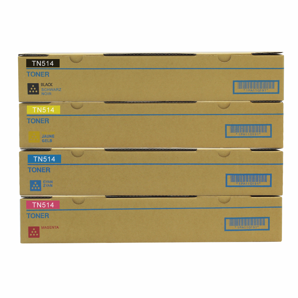 Kolit TN514 Toner Cartridge Same As Original KONICA MINOLTA BIZHUB