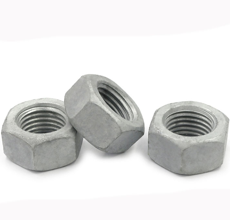 Hexagon nuts carbon steel hot dip galvanized Hexagon nuts hex nut