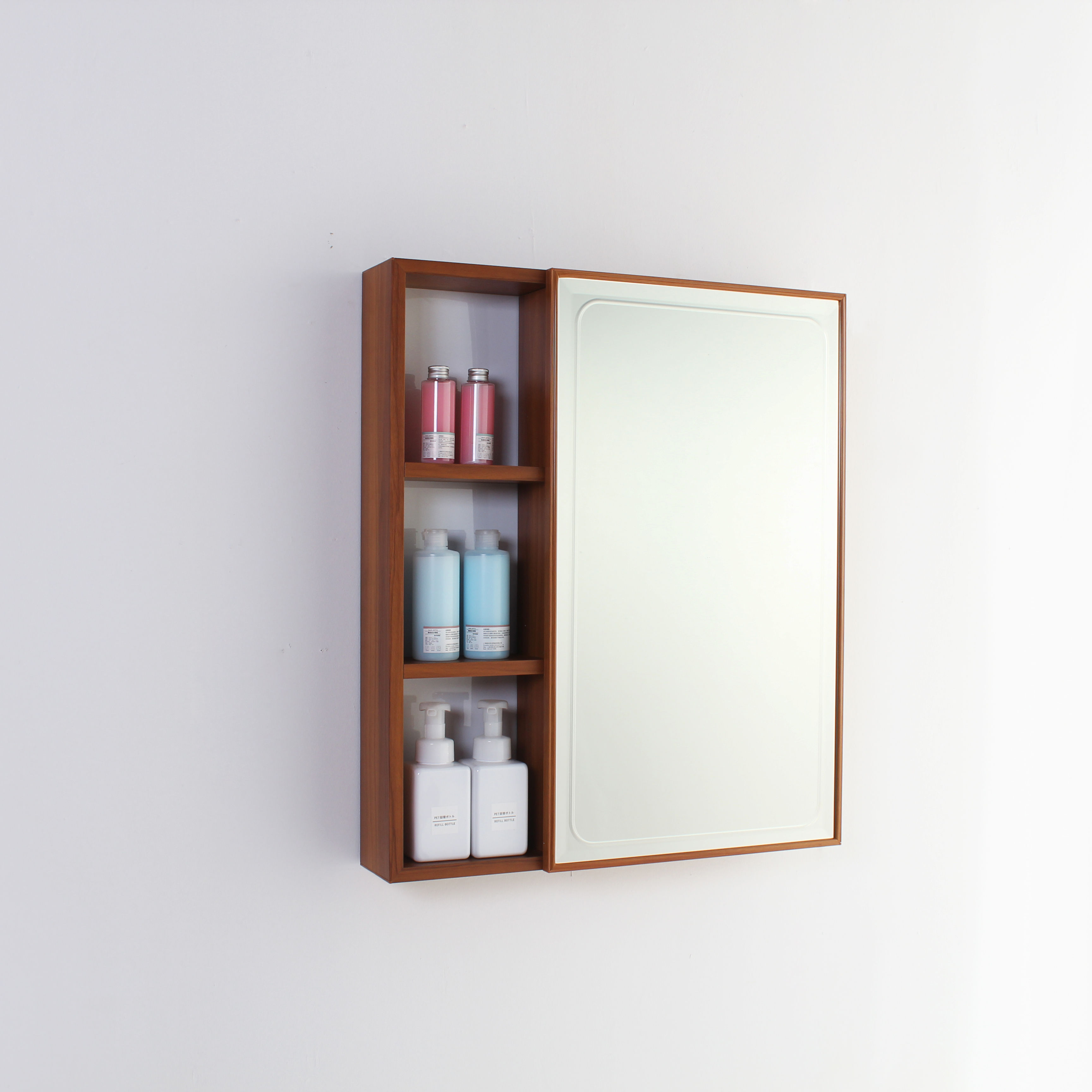 Bathroom Use High Quality Style T04 Aluminum Mirror Cabinet