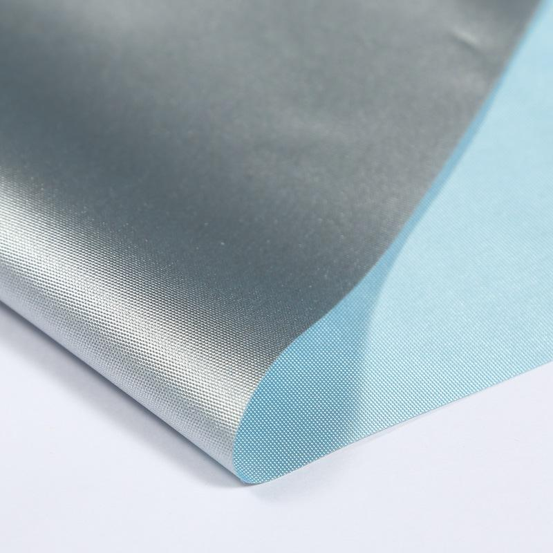 wholese Silver coated cloth material fabric 100 polyester for outdoor