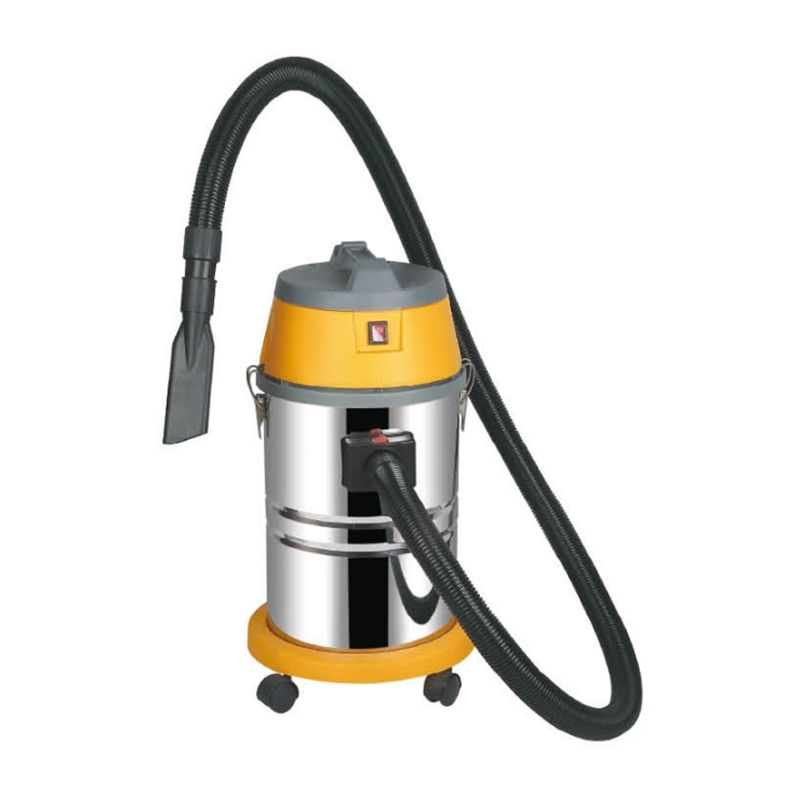 30 Litre Stainless Steel Wet And Dry Upright Cyclonic Vacuum Cleaner For Hotel