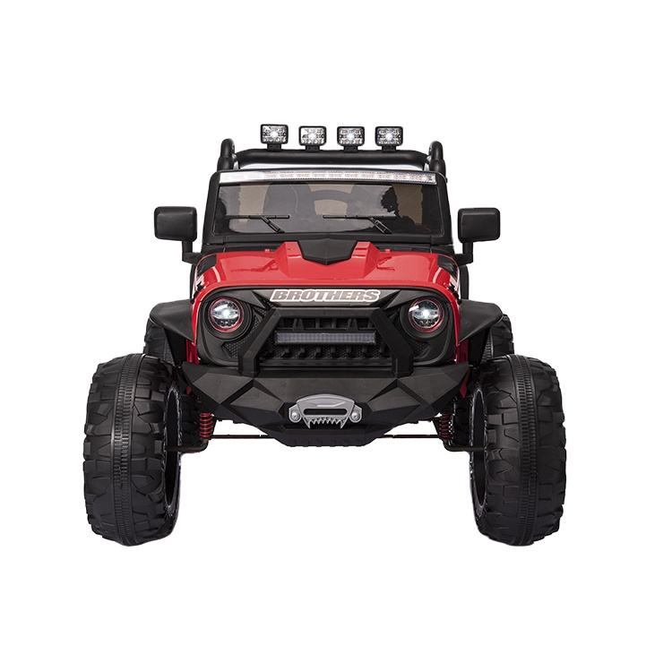 Rit Op Auto Battery Operated 2 Seat Jeep 12V Afstandsbediening Driveable Kids Elektrische Speelgoed Drive