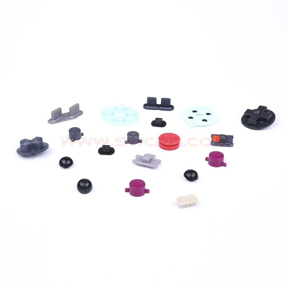Custom silicone rubber buttons with printing manufacturer
