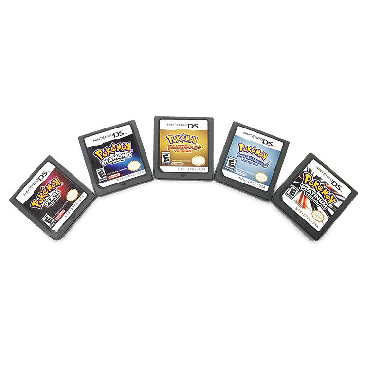 Hot Sell Nostalgia Video Game Cards For Nintendo Pokemon Gmae DS NDS NDSL 3DS 3DSLL