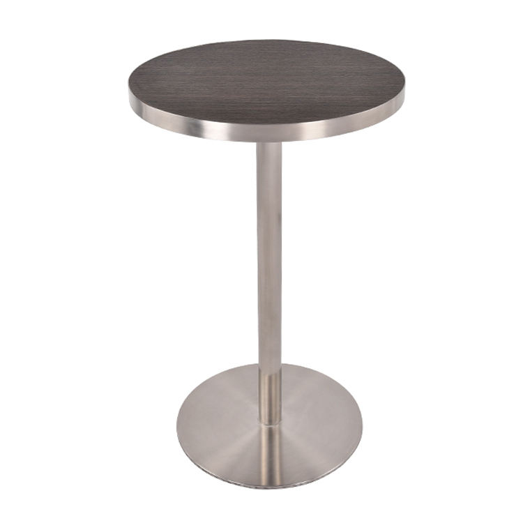 Factory Direct Sale Fashion Modern Party Round Cocktail Pub High Dining Tables For Bar