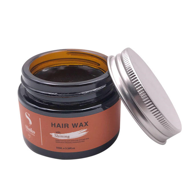 Oem Fashion Styling Organic Mens Pomade Gel Water Soluble Based Edge Control Private Label Hair Wax for Men