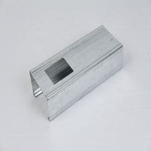 Middle East building material galvanized steel drywall /metal studs / track / c channel