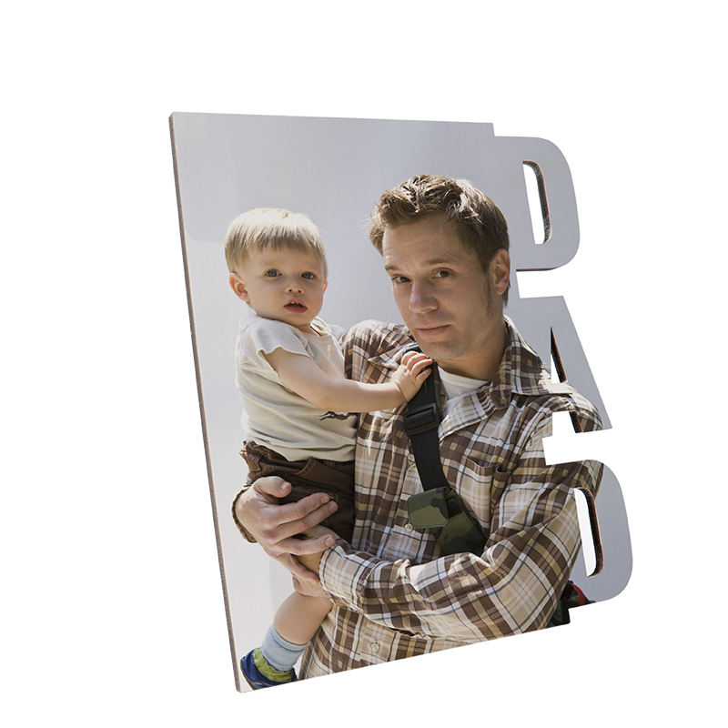 Design DIY Gift Sublimation Blank Plain MDF Frame Family Home Office Picture Frames
