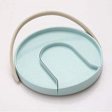 Kitchen Pantry rotating lazy susan turntable spice organizer