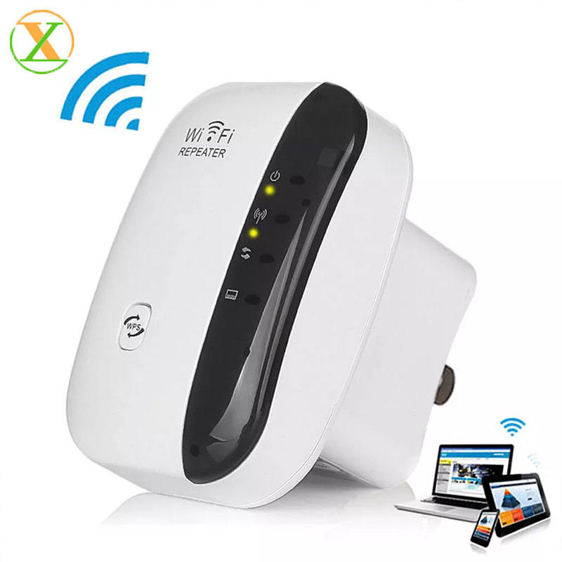 Top sale original newest super design 802.11N 300Mbps smart wireless Wi-Fi Repeater/Extender/Booster wifi perfect for Notebook