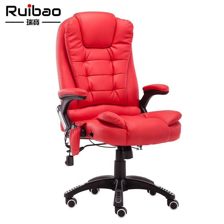 Hot Sale High Back Executive PU Leather Office Recliner Chair Health Massage Chair