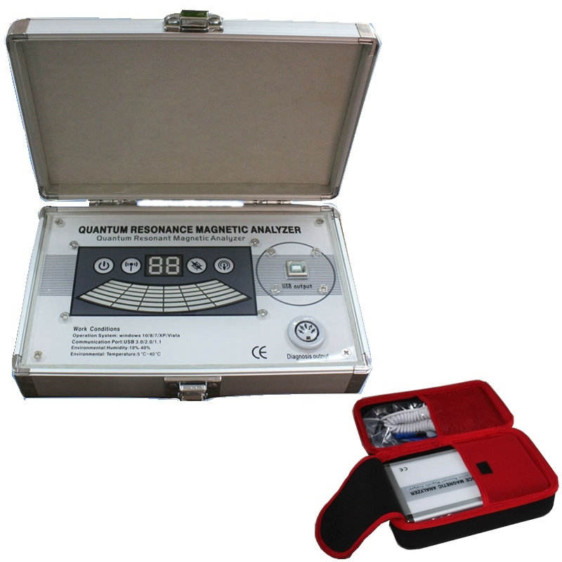Quantum Magnetic Resonance Analyzer Body Health Analyzer Multilingual 52 Reports
