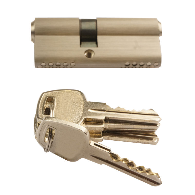 Hot Selling Door Lock 10 pins Kaba Cylinder 70mm with key thickness 2mm door lock cylinder security lock