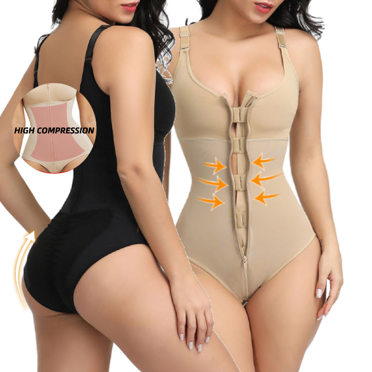Women Slimming Underwear Bodysuit Shapewear For Women Postpartum Recovery Butt Lifter Panties Body Shaper Slimming