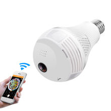 960P Indoor Security Cameras Wireless Wifi CCTV Security Spy 360 Degree Hidden LED Light Bulb IP Camera