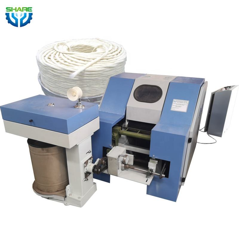 Mini Worsted Cotton Carding Machine Wool Sliver Knitting Making Machine