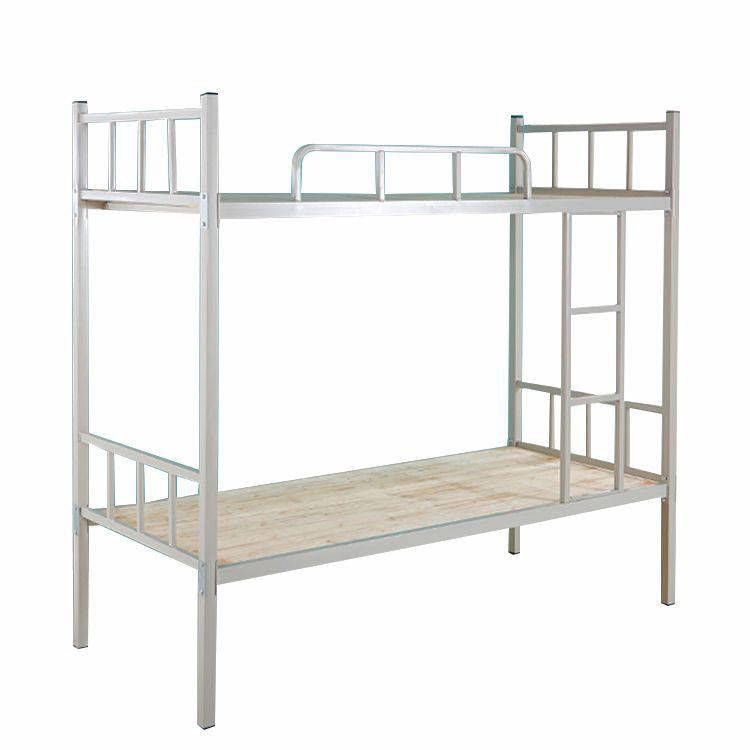 Wood board metal frame dormitory bunk bed with low price