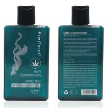 ECO finest New Arrived Natural Hair deep repair Organic Hemp CBD Oil hair Conditioner private label