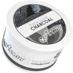 Fda approved natural exfoliating activated facial and body bamboo charcoal face scrub