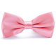Men's Polyester Bow Ties for Wedding Party Fancy Business Plain Adjustable Bowties