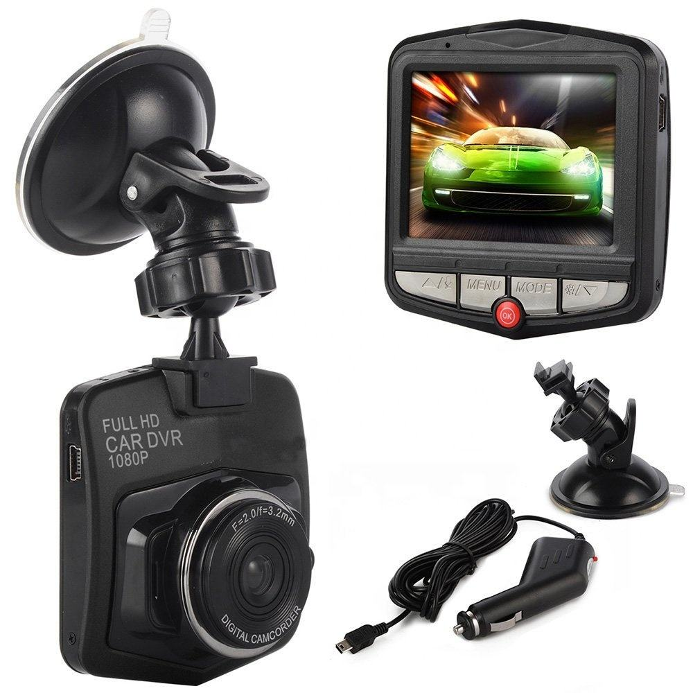 HD 1080P Driving Recorder Night Vision Loop Recording 170 Wide Angle Motion Detection Car DVR Dash Camera