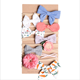 80915 Handmade Baby Headband Unique Hair Accessories Baby Girl elastic Hairband For Daily