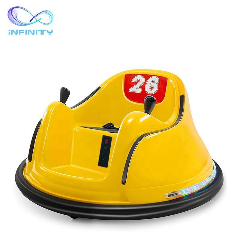 High quality popular smart remote control bumper car children drive kids sit in car ride on car toys