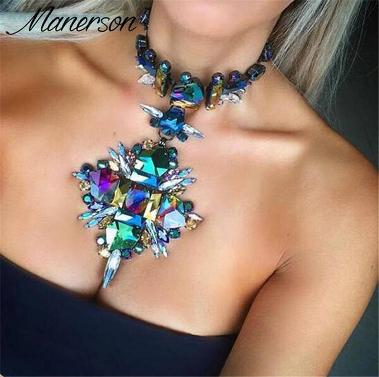 Lifu Bali Tassel Necklace Accessories Chunky Statement Necklace