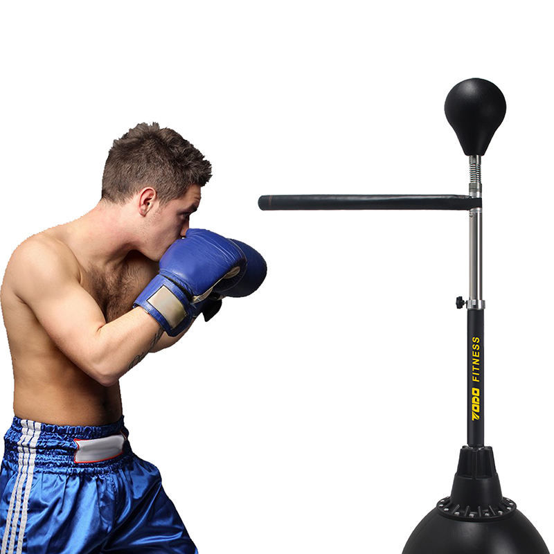 Adjustable Stand with Stronger Spring and Thicker PVC Punching Bag Boxing Gloves Toys Gifts for Boys and Girls Boxing Punching Bag with Stand for Kids HandSonic Boxing Punching Bag