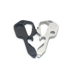 Universal stainless steel pocket size travel multifunctional outdoor survival camping multitool key