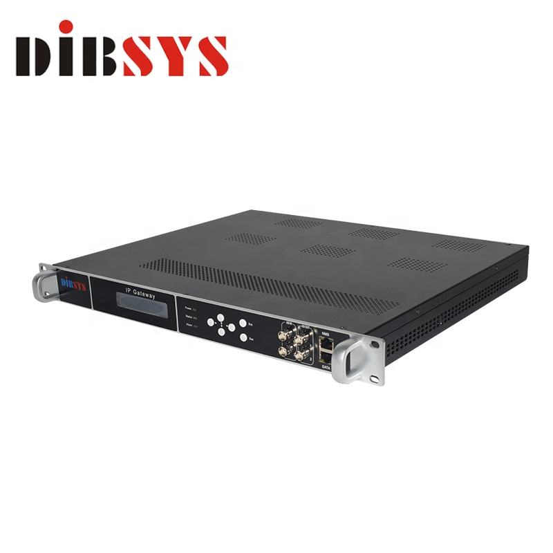 fta satellite receiver with 24 independent tuners DVB-S2/S ip gateway ATSC