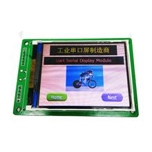RS232 / TTL UART display 3.2 inch TFT lcd 320*240 resolution HMI TFT display