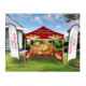 Pop up advertising cheap custom printed 10x10 outdoor canopy tent