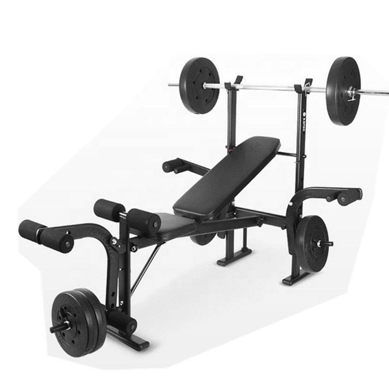 Multi home gym fitness equipment extreme performance weight benches with squat rack