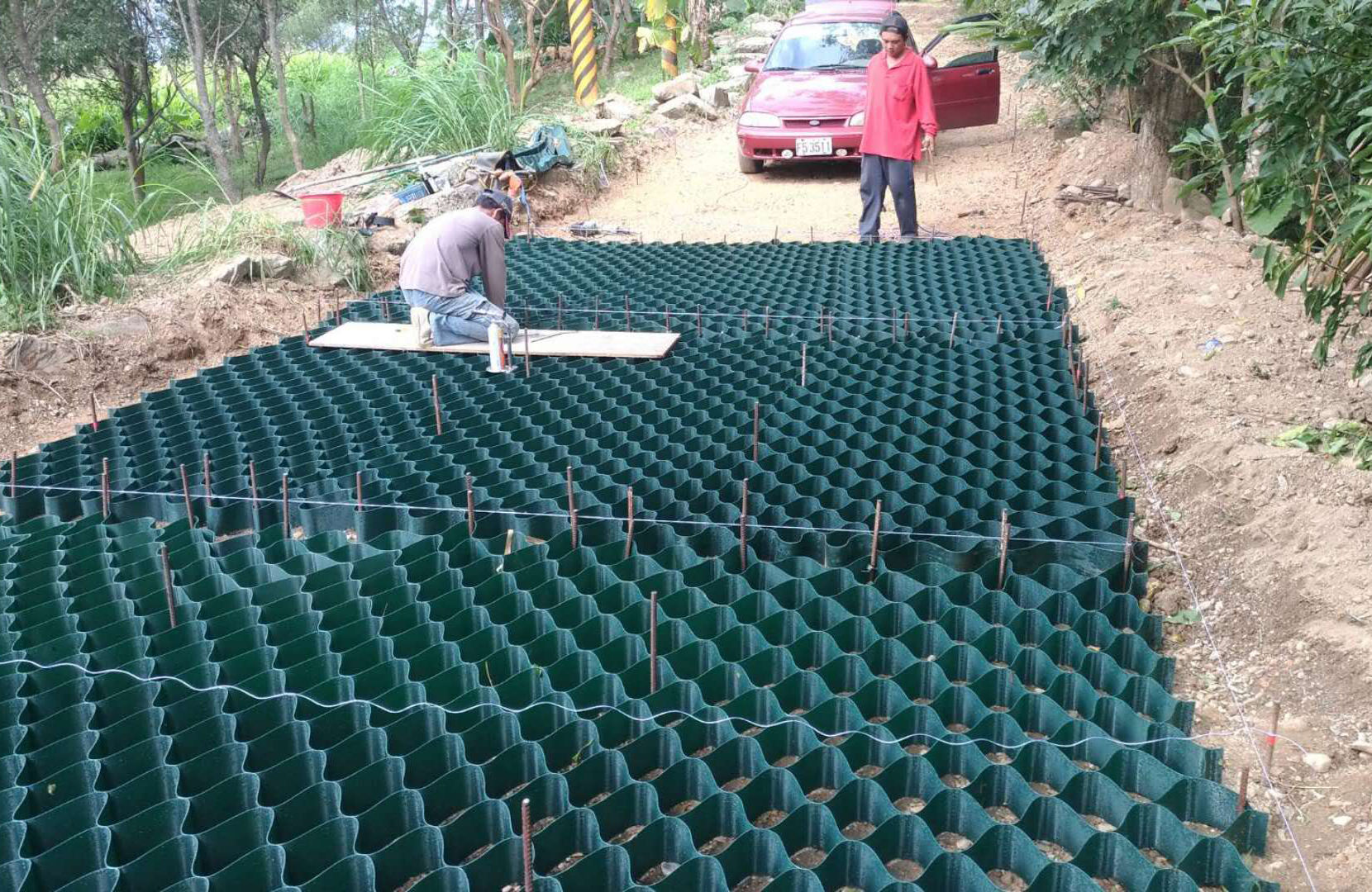 Geocells Prices Floor Plastic Hdpe Geocell Gravel Grid With Great Price