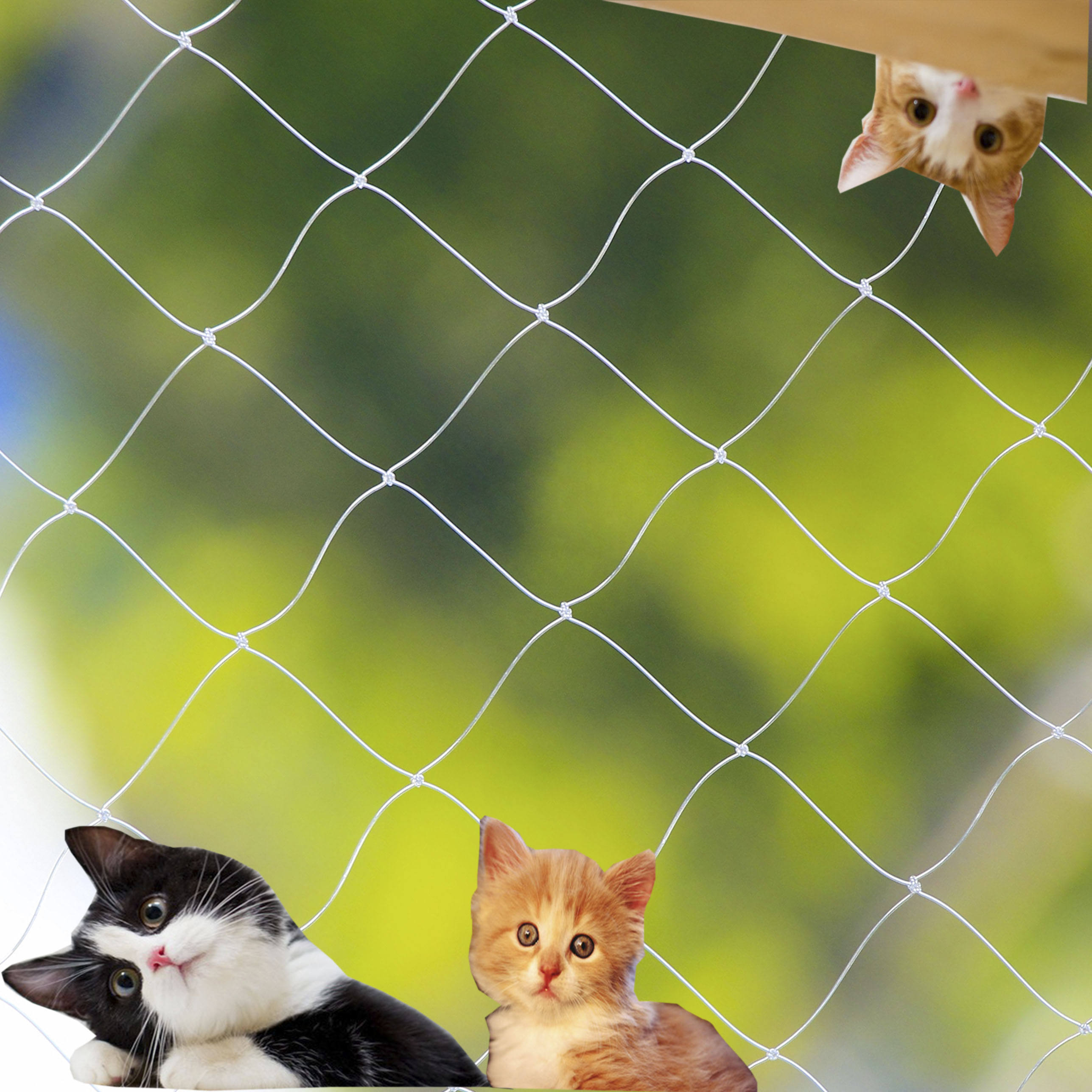 cat protection net transparent cat safety net balcony safety net for cat