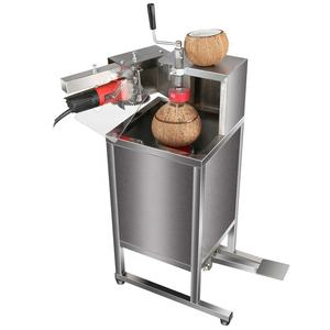 Electric coconut top cutting machine for sale coconut opening opener machine