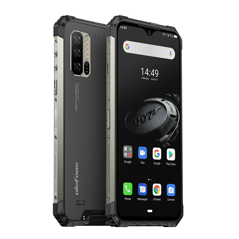 [<span class=keywords><strong>HK</strong></span> Lager] Ulefone Rüstung 7E Robuste Telefon 4GB + 128GB IP68 Wasserdicht