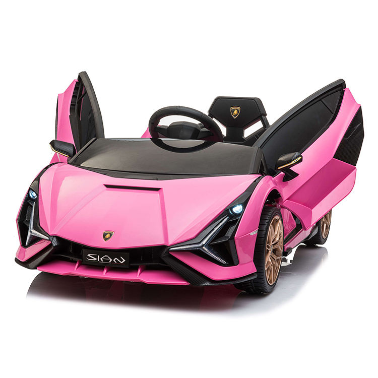 Wholesale China supplier 2020 4 motor Licensed Lamborghin SIAN 12V 2.4G remote control Kids Ride on Car