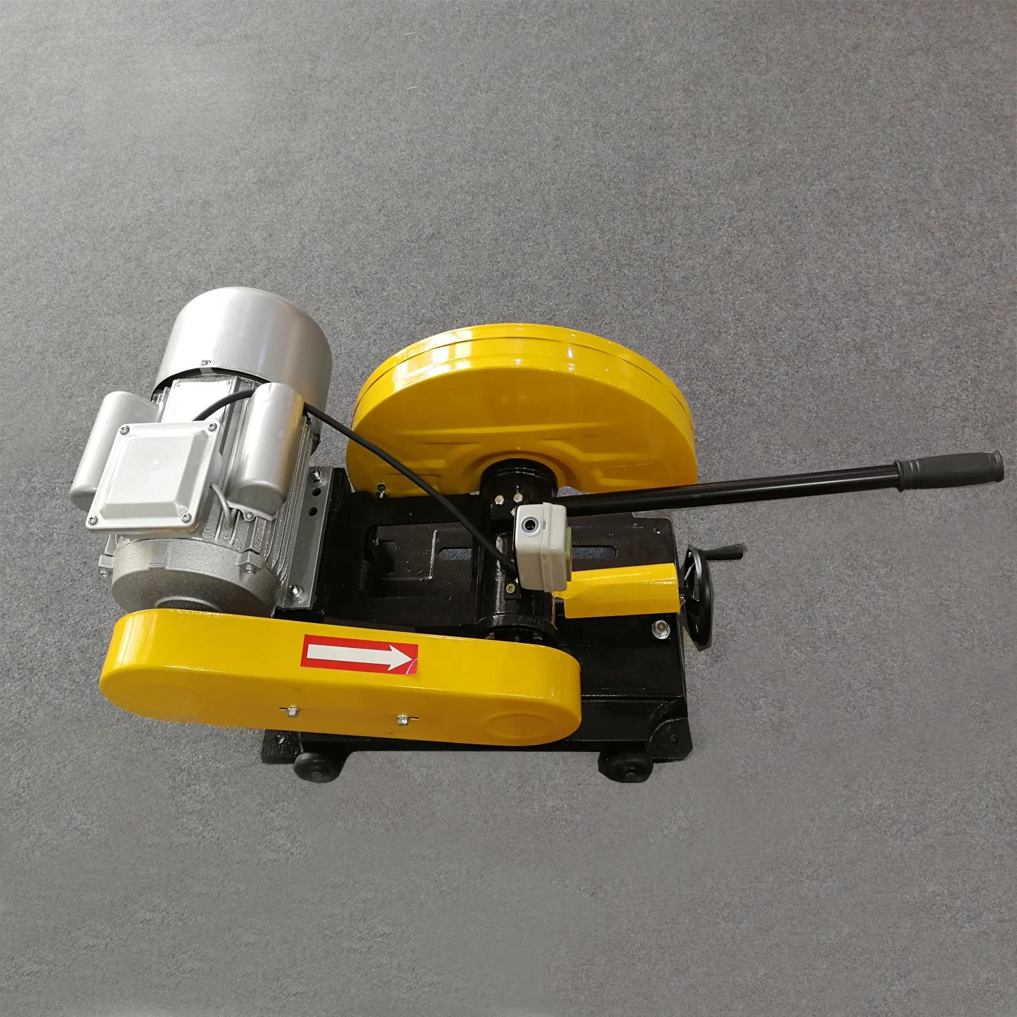 top sale 3KW 2.2KW cut off saw with 4 wheels