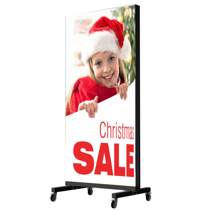 Vrijstaande LED screen smart city led sign LED ad poster