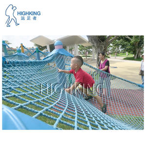 polyester knotless Safety net Outdoor Climbing net protection net