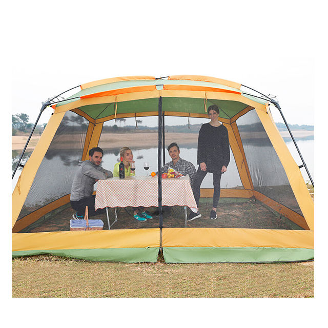 8-12 Person Camping Tent Outdoor Big Large Portable Canopy Tent Party Tent Family