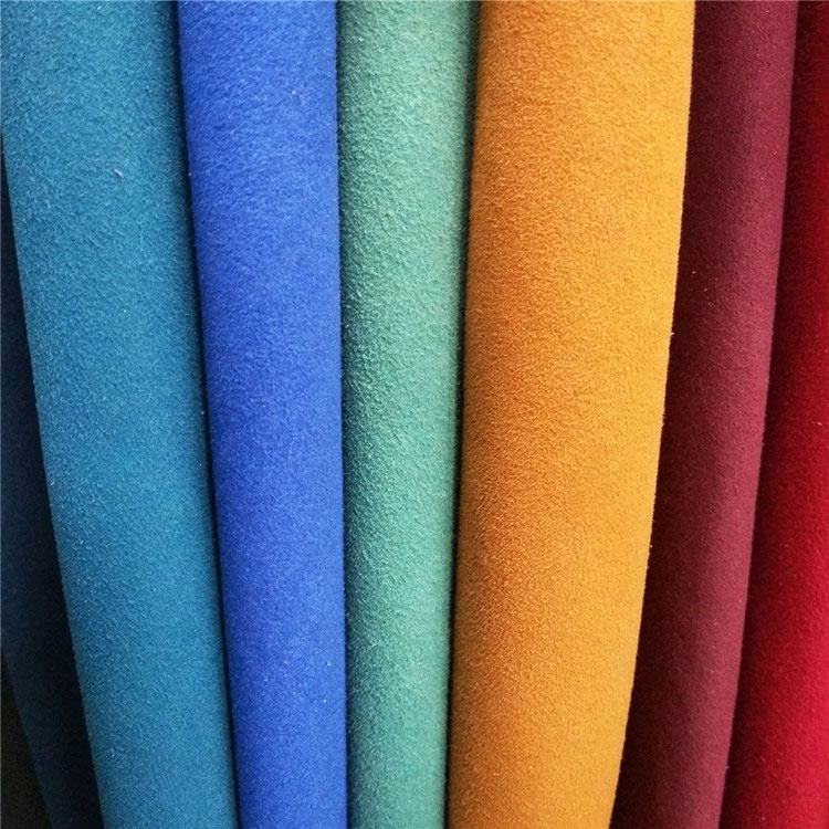 microfiber suede 100% pu leather material for gloves car and shoes lining