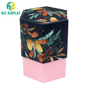 Customize Cylinder Tube Box Flip Magnetic cosmetic cardboard packaging