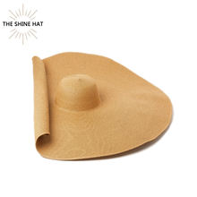 2020 Luxury Oversize Large Brim Lady Wheat Womens Floppy Sombreros de Paja Wholesale Sun Beach Hat Natural Straw Hats