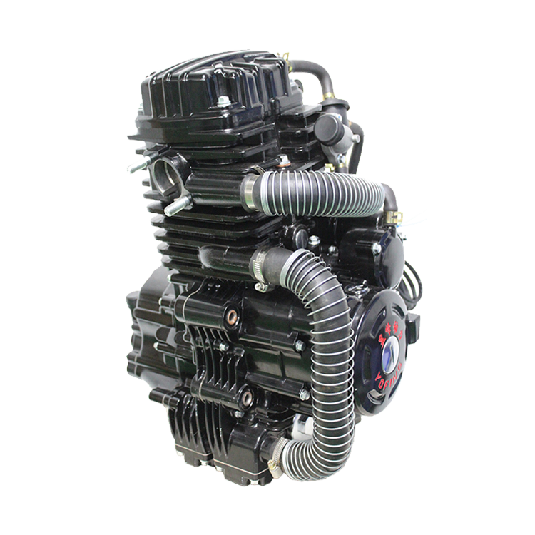 Yofing high quality 1 cylinder 4 stroke vertical tricycle engine 300cc motorcycle engine 5 gears motorcycle engine assembly