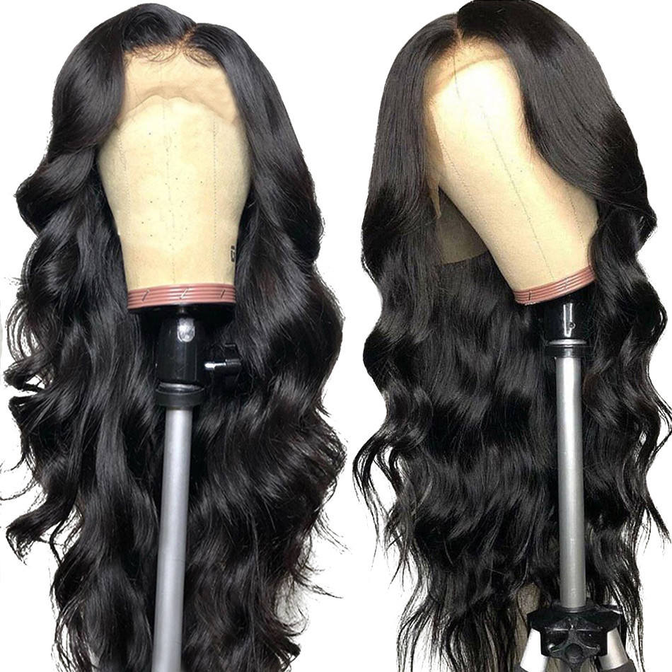 Cheap Wholesale Virgin Hair Vendors Lace Frontal Wig Bleached Knots Raw Mink Brazilian Human Hair Lace Front Wig With Baby Hair
